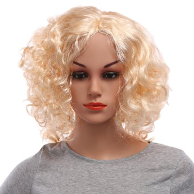 Party Carve Long Curly Inflated Fluffy Afro Hair Wigs