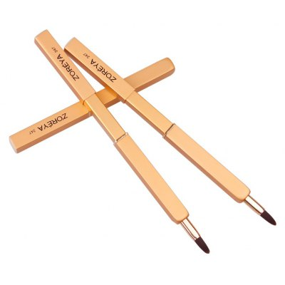 Portable Stretch Lip Brush Cosmetic Makeup