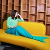 Weave Knitted YarnMermaid Blanket Bed Soft Rug Xmas Gift for sale