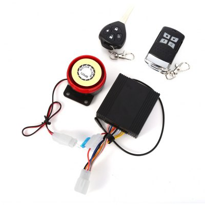 Anti-theft Motorcycle Security Remote Driving Alarm System with Key