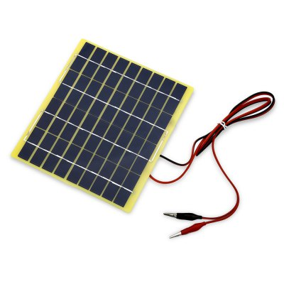 5W 18V Solar Panel Car Battery Charger