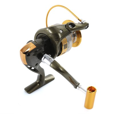 LIEYUWANG 10BB Spinning Fishing Reel with Foldable Handle