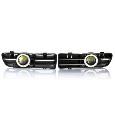 Pair of Front Bumper Fog Lamp Grille