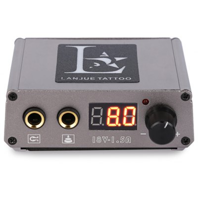 Mini Digital Tattoo Power Supply for Foot Pedal Switch