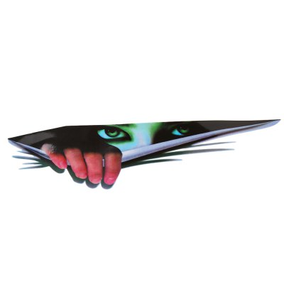 3D Simulation Devil Thriller Eyes Car Sticker