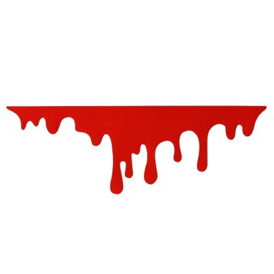Red Blood Bleeding Car Stickers