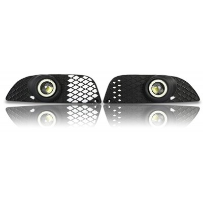 Pair of LED Foglight Grille for Mitsubishi Lancer