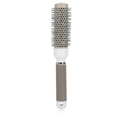 25mm Ceramic Ionic Round Comb Hair Dressing Salon Barber Styling Hairbrush ToolsHair Care<br>25mm Ceramic Ionic Round Comb Hair Dressing Salon Barber Styling Hairbrush Tools<br><br>Item Type: Combs<br>Materials: Iron<br>Product weight: 0.102 kg<br>Package weight: 0.122 kg<br>Product Size(L x W x H): 25.50 x 6.50 x 2.50 cm / 10.04 x 2.56 x 0.98 inches<br>Package Size(L x W x H): 26.00 x 7.00 x 3.00 cm / 10.24 x 2.76 x 1.18 inches<br>Package Content: 1 x Grey Ceramic Rolling Comb