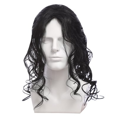 Classic Long Big Wavy Curly Black Wigs
