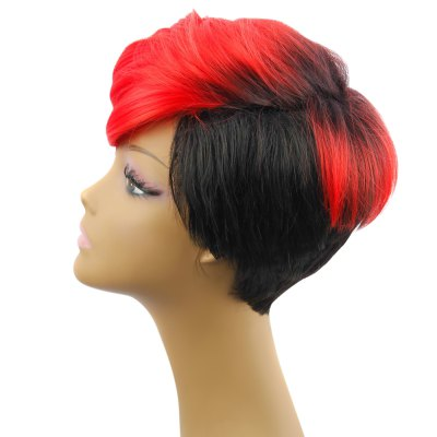 AISIHAIR Women Short Gradient Color Straight Synthetic WigsSynthetic Wigs<br>AISIHAIR Women Short Gradient Color Straight Synthetic Wigs<br><br>Bang Type: Side<br>Can Be Permed: Yes<br>Cap Construction: Full Lace<br>Cap Size: Adjustable<br>Gender: Female,Girl<br>Lace Wigs Type: Full Lace Wigs<br>Length: Short<br>Length Size(CM): 23cm<br>Length Size(Inch): 9.06inch<br>Material: Synthetic High Temperature Hair<br>Net Type: Rose Net<br>Package Contents: 1 x Wig<br>Package size (L x W x H): 30.00 x 20.00 x 5.00 cm / 11.81 x 7.87 x 1.97 inches<br>Package weight: 0.175 kg<br>Product size (L x W x H): 23.00 x 5.00 x 5.00 cm / 9.06 x 1.97 x 1.97 inches<br>Product weight: 0.155 kg<br>Style: Curly<br>Type: Full Wigs