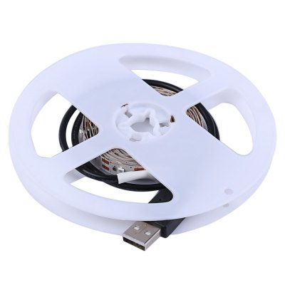 5V 2M LED Strip Tape Lamp with USB CableLED Strips<br>5V 2M LED Strip Tape Lamp with USB Cable<br><br>Average Life (hrs): 50000H<br>LED Chip Brand: Epistar<br>LED Chip Model: SMD3528<br>LEDs Number/M: 60 pcs/m<br>Occasion: Bedroom,Garden,Living Room,Square<br>Power Source: DC<br>Strip type: Round 2-wire<br>Waterproof: Yes<br>Product weight: 0.041 kg<br>Package weight: 0.057 kg<br>Product Size(L x W x H): 13.00 x 13.00 x 1.00 cm / 5.12 x 5.12 x 0.39 inches<br>Package Size(L x W x H): 19.00 x 15.00 x 2.00 cm / 7.48 x 5.91 x 0.79 inches<br>Package Contents: 1 X 5V 2M LED Strip Tape Lamp with USB Cable