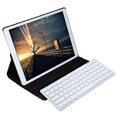 Wireless Bluetooth Keyboard Detachable Cover for iPad Pro 12.9 Inch