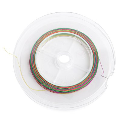 HENGJIA 100M Colorful 4 Strands Multifilament Fishing Line
