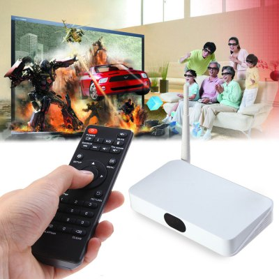 Q7 Mini Quad Core ARM Cortex-A7 RK3128 Android 4.4.4 TV Box Player