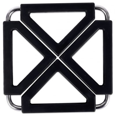 Stainless Steel Silicone Heat Insulation Pot Holder Pad