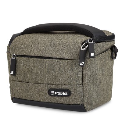 PROWELL DC22009 Photography DSLR Camera BagCamera Bags<br>PROWELL DC22009 Photography DSLR Camera Bag<br><br>Package Contents: 1 x Bag, 1 x Shoulder Belt<br>Package Size(L x W x H): 20.00 x 14.00 x 18.00 cm / 7.87 x 5.51 x 7.09 inches<br>Package weight: 0.405 kg<br>Product Size(L x W x H): 19.00 x 13.00 x 17.00 cm / 7.48 x 5.12 x 6.69 inches<br>Product weight: 0.380 kg