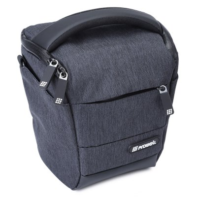 PROWELL DC22009B DSLR Camera Photography Shoulder BagCamera Bags<br>PROWELL DC22009B DSLR Camera Photography Shoulder Bag<br><br>Package Contents: 1 x Bag, 1 x Shoulder Belt<br>Package Size(L x W x H): 19.00 x 15.00 x 21.00 cm / 7.48 x 5.91 x 8.27 inches<br>Package weight: 0.375 kg<br>Product Size(L x W x H): 17.00 x 13.00 x 19.00 cm / 6.69 x 5.12 x 7.48 inches<br>Product weight: 0.350 kg