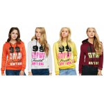 Casual Drawstring 99 Letter Print Women Hoodie photo