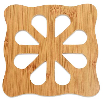 Creative Hollow Wooden Carved Coaster Tableware