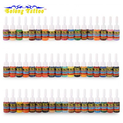Solong Tattoo 5ml 54 Colors / Set Pigments Inks