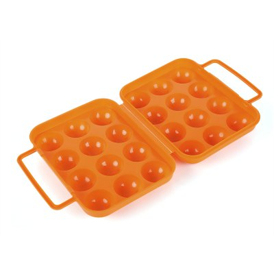 Portable Folding Carry 4 / 12 Eggs Storage Holder Case