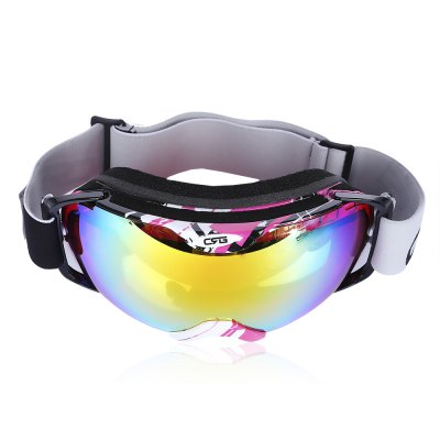 CRG Anti-fog Skiing Double Lens Goggles Mask