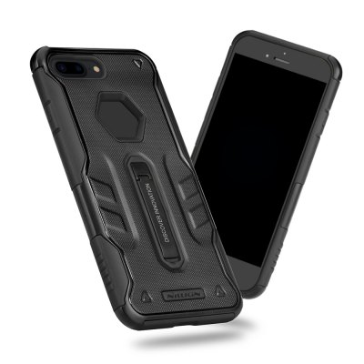 NILLKIN Defender 4 Case Alloy Stander Cover for iPhone 7 PlusiPhone Cases/Covers<br>NILLKIN Defender 4 Case Alloy Stander Cover for iPhone 7 Plus<br><br>Function: Anti-knock, Dirt-resistant<br>Package Contents: 1 x Case<br>Package Size(L x W x H): 18.20 x 11.20 x 1.90 cm / 7.17 x 4.41 x 0.75 inches<br>Package weight: 0.075 kg<br>Product weight: 0.025 kg<br>Type: Case