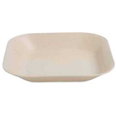 Wheat Straw Square Dish Plate
