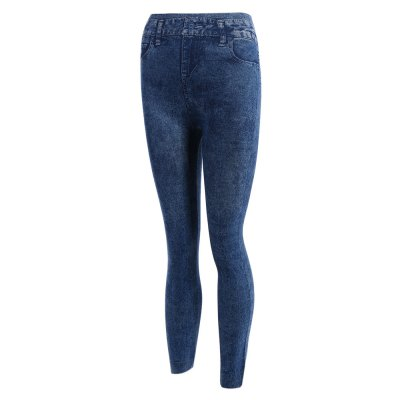 Snowflake Skinny High Waisted Jeans for Women