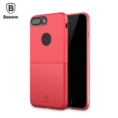 Baseus Half to Half Case Solid Color Cover for iPhone 7 Plus