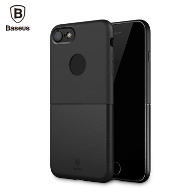 Baseus Half to Half Case Solid Color Cover for iPhone 7