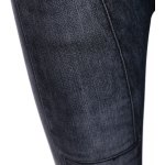 best Mid Waist Patched Black Skinny Jeans