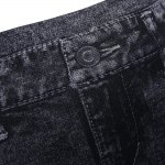 Snowflake Skinny High Waisted Jeans for Women photo