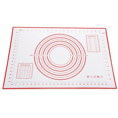 Silicone Heat Resistance Dough Flour Mat Pastry Tool