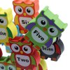 Wooden Owl Building Block High Piles Kids Educational Toy for sale