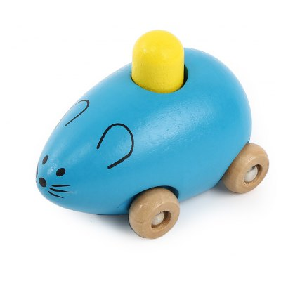 Youlebi Music Mouse Squeaking Wooden Toys Child Gadget