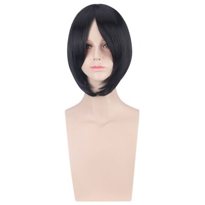 Short Side Bangs Straight Wigs Cosplay for Another Misaki Mei Figure