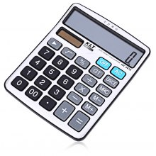 KLT SJC - 367K 12 Digit LCD Display Electronic Calculator