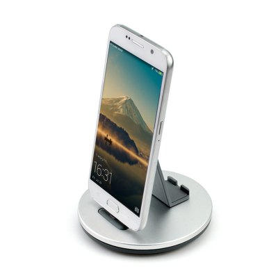 TS028 2 in 1 Micro USB Charging Docking Station Stand