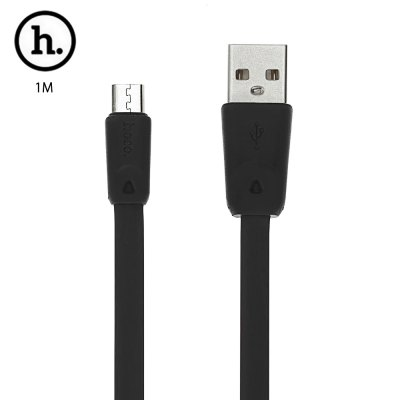 HOCO X9 Micro USB TPE Charge Transfer Data Cord 1M