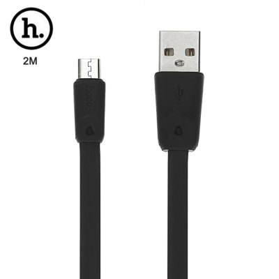 HOCO X9 Micro USB TPE Charge Transfer Data Cord 2M