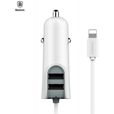 Baseus 2.1A Dual USB Output High Speed Car Charger