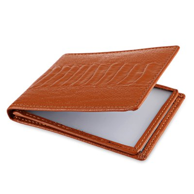 Leather License CaseCoin Purse &amp; Card Holder<br>Leather License Case<br><br>Closure Type: Open<br>Color: Blue, Brown, Purple, Red<br>Gender: For Unisex<br>Height: 7.8<br>Length(CM): 10.5<br>Main Material: Leather<br>Package Contents: 1 x License case<br>Package size (L x W x H): 11.00 x 1.00 x 8.00 cm / 4.33 x 0.39 x 3.15 inches<br>Package weight: 0.063 kg<br>Pattern Type: Others<br>Product weight: 0.041 kg<br>Style: Casual<br>Wallets Type: Passport Wallets<br>Width: 1