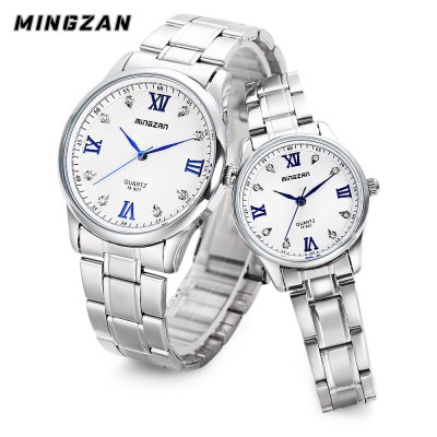 MINGZAN Couple Quartz Watch