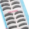 LDIANER Extension Natural Long Cross Thick Fake Eyelashes for sale
