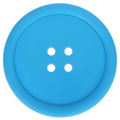 Button Shape Silicone Cup Pad