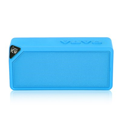 YCYY X3S Bluetooth SpeakerSpeakers<br>YCYY X3S Bluetooth Speaker<br><br>Audio Source: Bluetooth Enabled Devices,Electronic Products with 3.5mm Plug,Electronic Products with USB port,TF/Micro SD Card<br>Battery Capacity: 1200mAh<br>Battery Type: li-ion battery<br>Battery Voltage: 3.7V<br>Bluetooth Version: Bluetooth 2.1<br>Brand: YCYY<br>Cable Length (cm): 50cm<br>Charging Time: 4 hours<br>Compatible with: TF/Micro SD Card, Tablet PC, PC, iPhone, Laptop, Mobile phone, MP3, MP4, MP5<br>Connection: Wireless<br>Design: Portable<br>FM Radio Frequency: 87.5-108MHz<br>Freq: 120Hz -18kHz<br>Functions: Songs Track, AUX Function<br>Interface: Power Charge Port, TF Card Slot, USB2.0, Micro USB<br>Model: X3S<br>Number of Speakers: 1<br>Package Contents: 1 x YCYY X3S Wireless Bluetooth Speaker, 1 x USB Cable<br>Package size (L x W x H): 14.00 x 6.00 x 4.00 cm / 5.51 x 2.36 x 1.57 inches<br>Package weight: 0.245 kg<br>Power Output: 3W<br>Power Source: Battery,USB<br>Product size (L x W x H): 12.00 x 5.50 x 3.50 cm / 4.72 x 2.17 x 1.38 inches<br>Product weight: 0.199 kg<br>S/N: 80dB<br>Sound channel: Mono<br>Speaker Impedance: 4 ohm<br>Standby time: 3H<br>Supports: Volume Control, Microphone, Bluetooth, FM, Hands-free Calls, TF Card Music Playing<br>TF Card Extension: 16G to the Max. ( Not Included )<br>Total Power: 3W<br>Transmission Distance: W/O obstacles 10m<br>Working Time: 2 hours