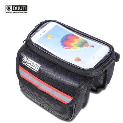 DUUTI Bike Cycling Phone Screen Front Tube Bag
