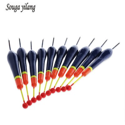 Sougayilang 10pcs Cedar Wood Floating Fishing Float