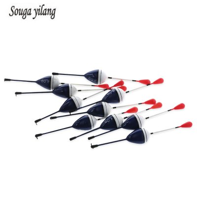 Sougayilang 10pcs 4g Cedar Wood Fishing Float